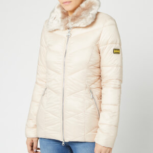 Barbour International Women's Nurburg Quilt Jacket - Oyster