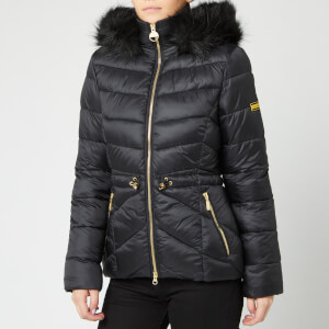 Barbour International Women's Island Quilt Jacket - Black