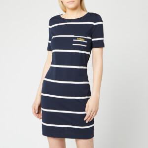 Barbour Women's Stokehold Dress - Navy/White