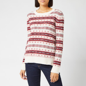 Barbour Women's Peak Knit Jumper - Off White