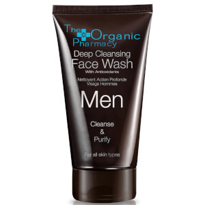 The Organic Pharmacy Men's Deep Cleansing Face Wash 75ml/2.5oz