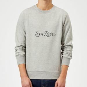 Lanre Retro Lanretro Dark Sweatshirt - Grey