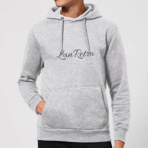 Lanre Retro Lanretro Dark Hoodie - Grey