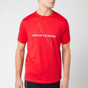 Armani Exchange Men's Ax Large Logo T-Shirt - Absolute Red