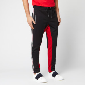 Armani Exchange Men's Stripe Detail Pants - Black