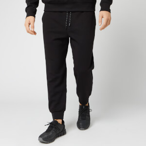 Armani Exchange Men's AX Box Logo Pants - Black
