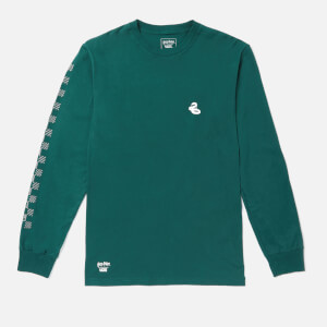 Vans X Harry Potter Men's Slytherin Long Sleeve T-Shirt - Trekking Green