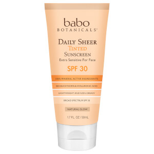 Babo Botanicals SPF30 Daily Sheer Tinted Sunscreen - Natural Glow 1.7 fl. oz