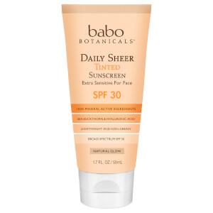 Babo Botanicals SPF30 Daily Sheer Tinted Sunscreen - Natural Glow 1.7 fl. oz
