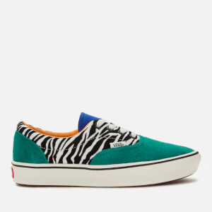 Vans ComfyCush Era Zebra Print Trainers - Tidepool/Surf The Web