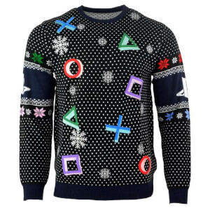 PlayStation Official Symbols Knitted Christmas Jumper