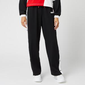 Puma X Karl Lagerfeld Women's Wide Leg Pants - Puma Black