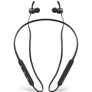Mixx UltraFit Wireless Neckband Headphones - Midnight Black