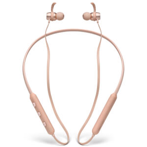 Mixx UltraFit Wireless Neckband Headphones - Rose Gold