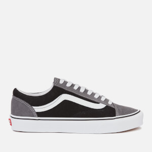 Vans Men's Style 36 Vintage Suede Trainers - Pewter/Black