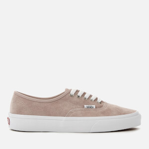 Vans Women's Authentic Suede Trainers - Shadow Grey/True White