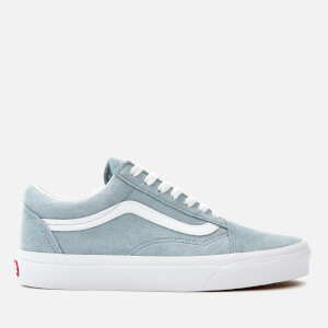 Vans Women's Old Skool Suede Trainers - Blue Fog/True White