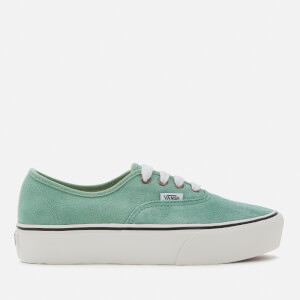 Vans Women's Authentic Platform 2.0 Vintage Lace Trainers - Creme de Menthe/Snow White
