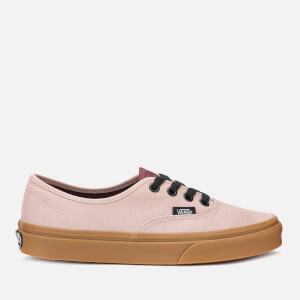 Vans Women's Authentic Gum Trainers - Shadow Grey/Prune