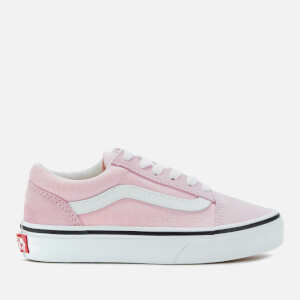 Vans Kids' Old Skool Trainers - Lilac Snow/True White