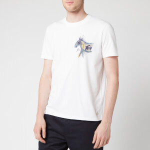 Folk Men's Orpheus Print T-Shirt - White