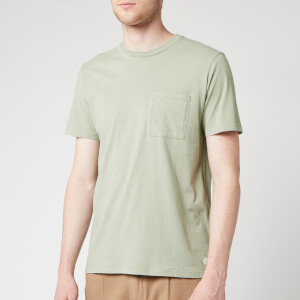 Folk Men's Pocket Assembly T-Shirt - Washed Green
