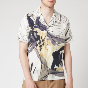 Folk Men's Soft Collar Shirt - Orpheus Print