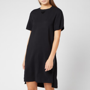 Karl Lagerfeld Women's Dress with Snap Sides - Black