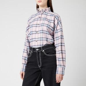 Isabel Marant Étoile Women's Ilaria Shirt - Pink /Blue