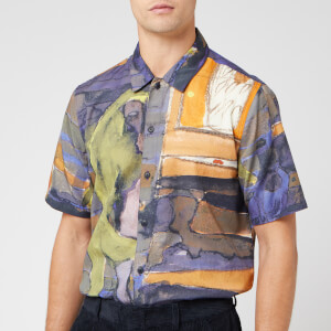 Folk Men's Gabe Shirt - Figure Print
