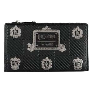 Harry Potter Black Crests Wallet