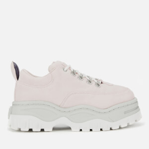 Eytys Women's Angel Suede Chunky Trainers - Ice Pink