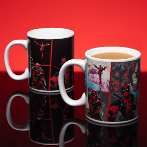 Mug thermoréactif Deadpool– Marvel Comics