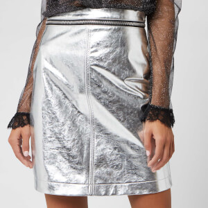 Philosophy di Lorenzo Serafini Women's Skirt - Nickel
