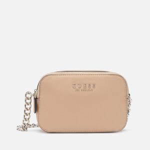 Guess Women's Robyn Cross Body Camera Bag - Tan