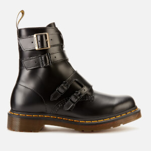Dr. Martens Women's Blake II Leather Buckle Chelsea Boots - Black