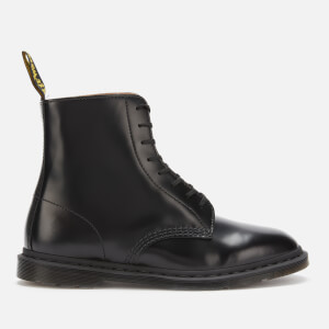 Dr. Martens Men's Winchester Ii Polished Smooth Leather Lace Up Boots - Black