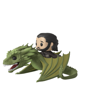 Figurine Pop! Ride - Jon Snow sur Rhaegal - Game of Thrones