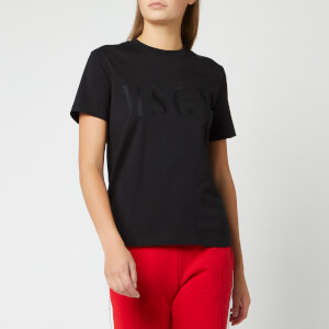 MSGM Women's Basic T-Shirt - Black