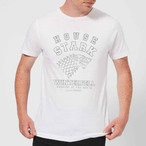 Game of Thrones House Stark Men's T-Shirt - White