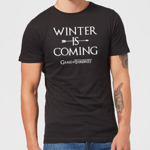 Game of Thrones Winter Is Coming t-shirt - Zwart