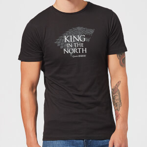 Game of Thrones King In The North Men's T-Shirt - Black