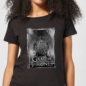 Game of Thrones Iron Throne Women's T-Shirt - Black