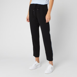 BOSS Women's Safalir Jogging Pants with Stripe - Black