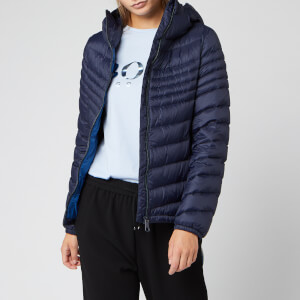 BOSS Women's Ofavour Lightweight Nylon Jacket - Navy