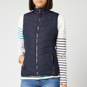 Joules Women's Fallow Padded Gilet - Marine Navy