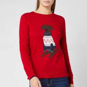 Joules Women's Miranda Labrador Jumper - Red