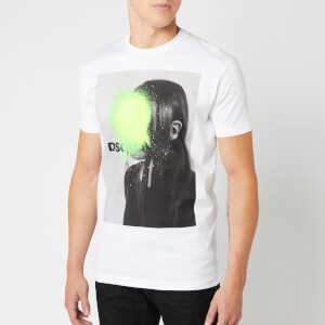 Dsquared2 Men's Portrait T-Shirt - White