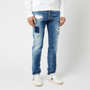 Dsquared2 Men's Distressed Cool Guy Jeans - Blue