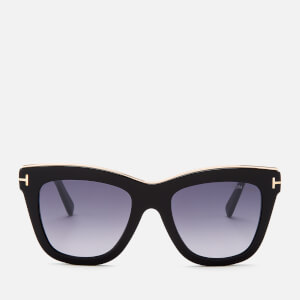 Tom Ford Women's Julie Sunglasses - Shiny Black/Smoke Mirror